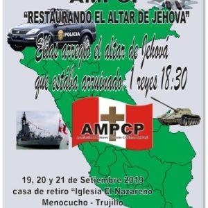 XI Conferencia Nacional De Militares Y Policías Cristianos